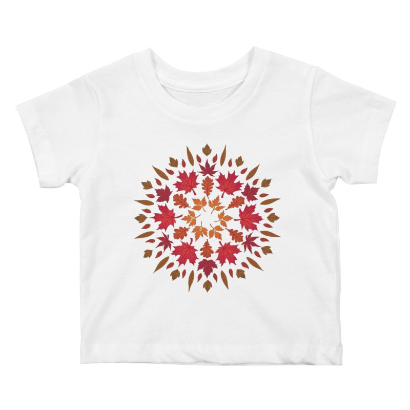 Autumn Sun Kids Baby T-Shirt by Waynem