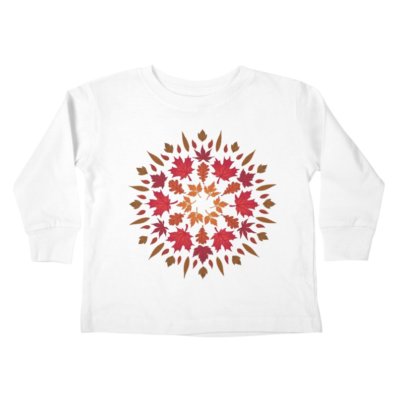 Autumn Sun Kids Toddler Longsleeve T-Shirt by Waynem