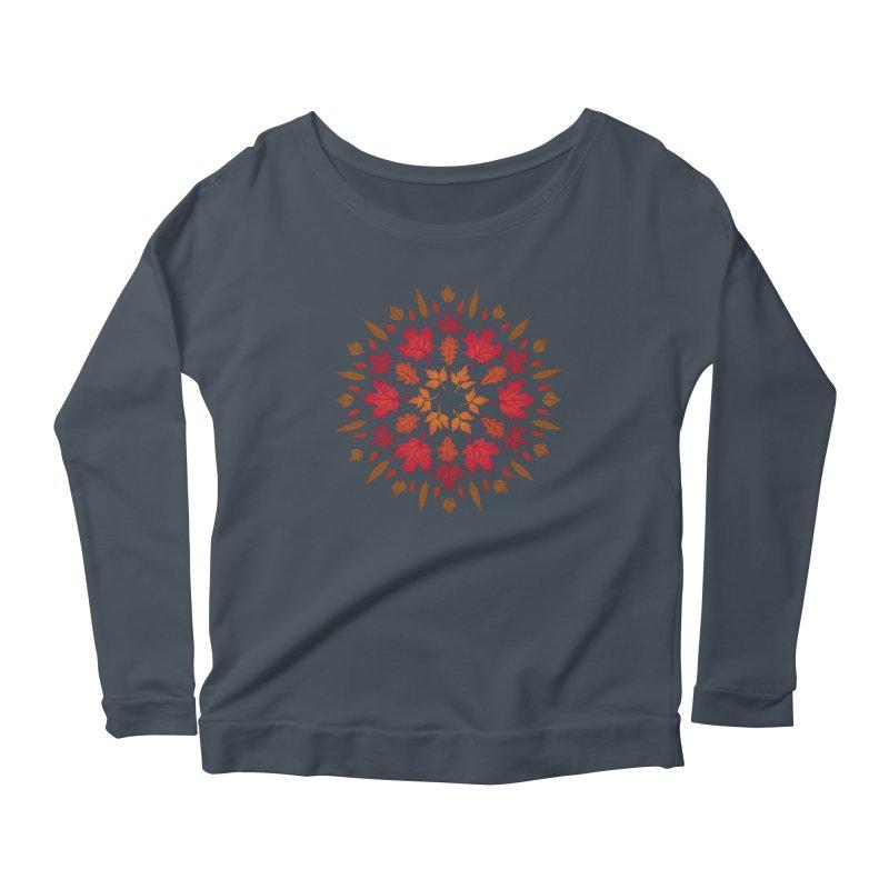 Autumn Sun Women's Scoop Neck Longsleeve T-Shirt by Waynem