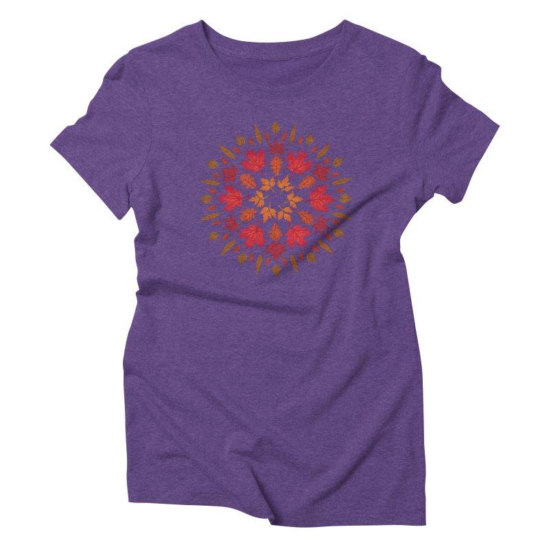 Autumn Sun Women's Triblend T-Shirt by Waynem
