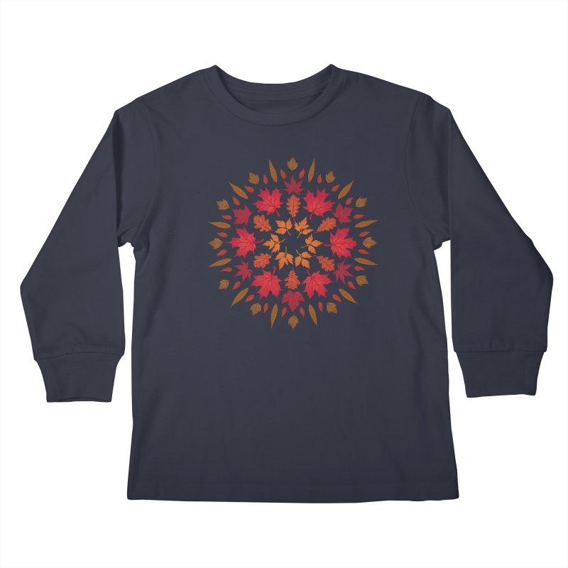 Autumn Sun Kids Longsleeve T-Shirt by Waynem