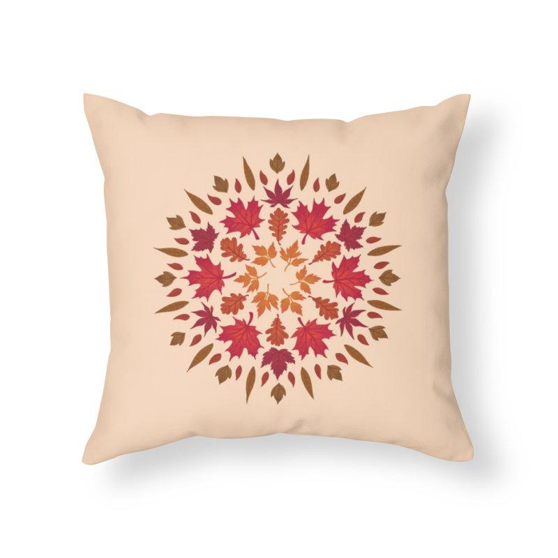 Autumn Sun Home Throw Pillow by Waynem