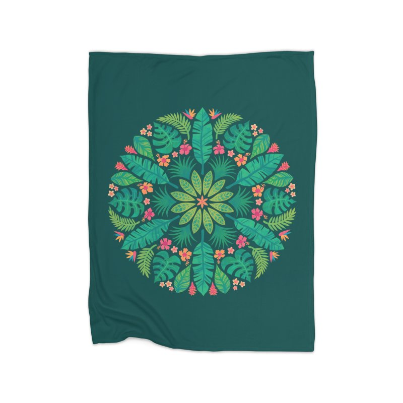 Tropical Sun Home Blanket by Waynem