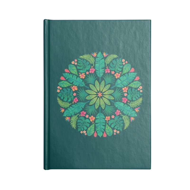 Tropical Sun Accessories Blank Journal Notebook by Waynem