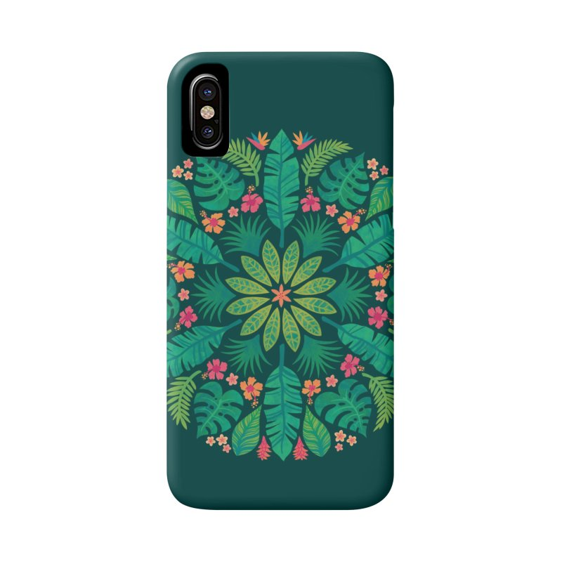 Tropical Sun Accessories Phone Case by Waynem