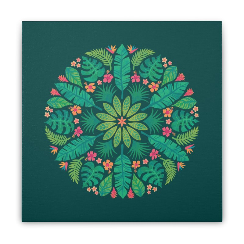 Tropical Sun Home Stretched Canvas by Waynem