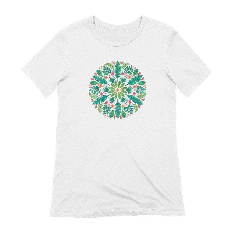 Tropical Sun Women's Extra Soft T-Shirt by Waynem