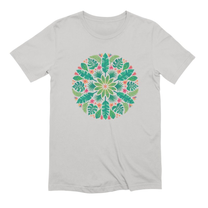 Tropical Sun Men's Extra Soft T-Shirt by Waynem