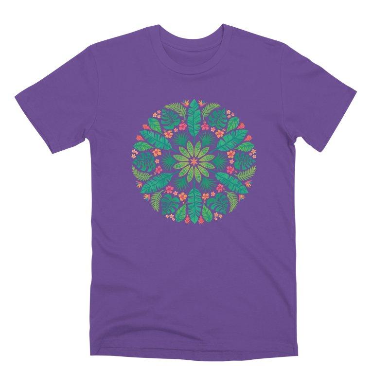 Tropical Sun Men's Premium T-Shirt by Waynem
