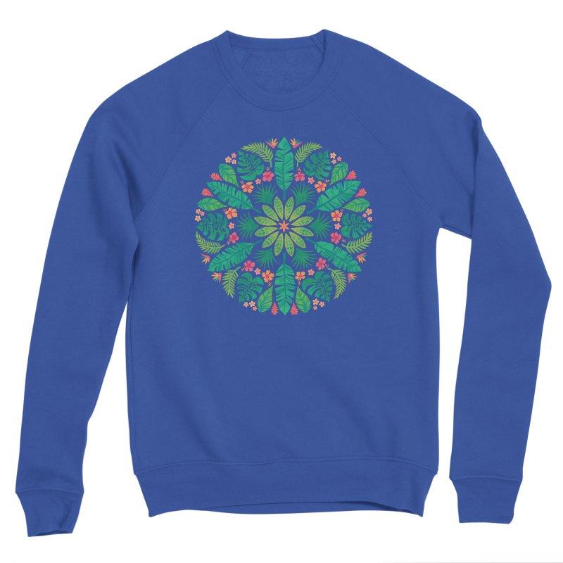 Tropical Sun Women's Sponge Fleece Sweatshirt by Waynem