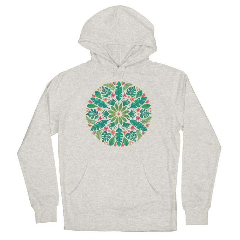 Tropical Sun Women's French Terry Pullover Hoody by Waynem