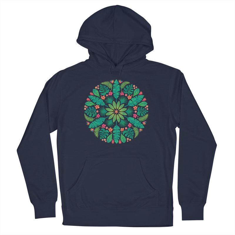 Tropical Sun Men's French Terry Pullover Hoody by Waynem