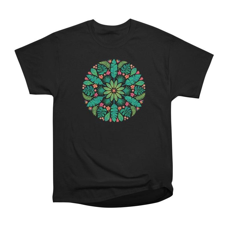 Tropical Sun Men's Heavyweight T-Shirt by Waynem