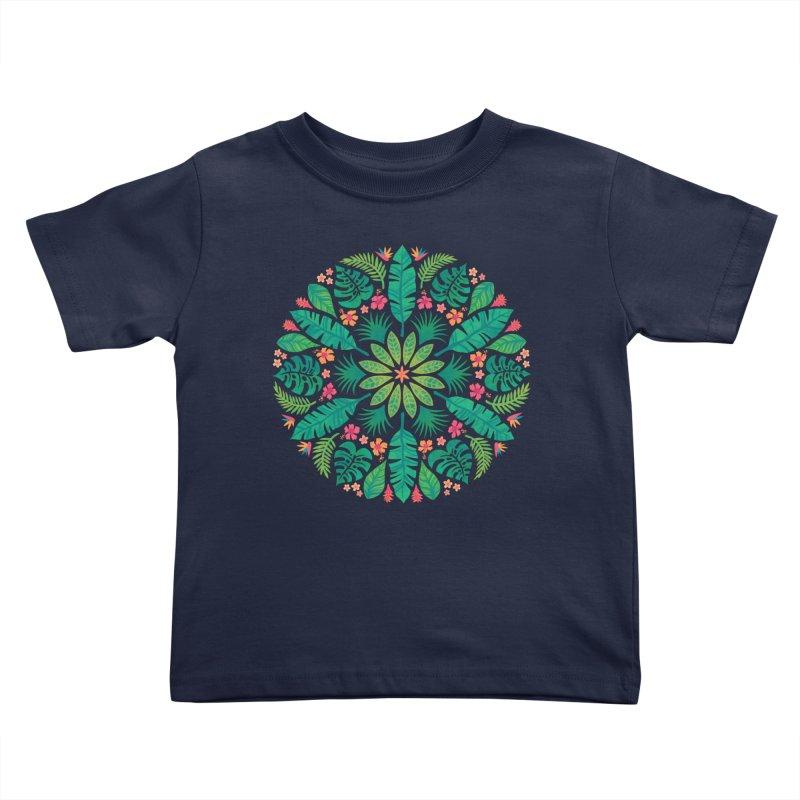 Tropical Sun Kids Toddler T-Shirt by Waynem
