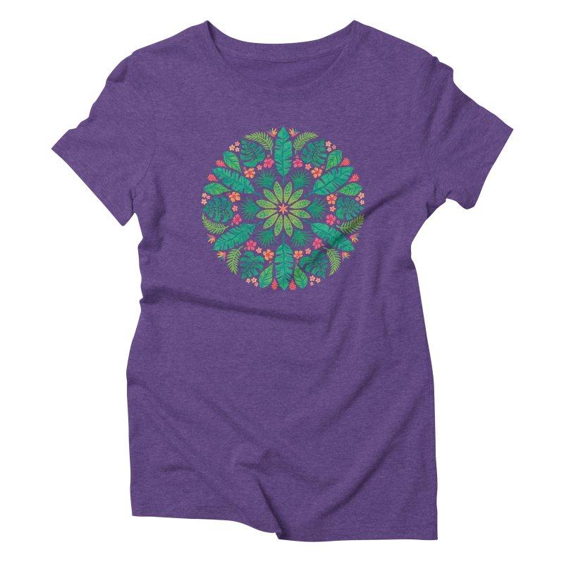 Tropical Sun Women's Triblend T-Shirt by Waynem