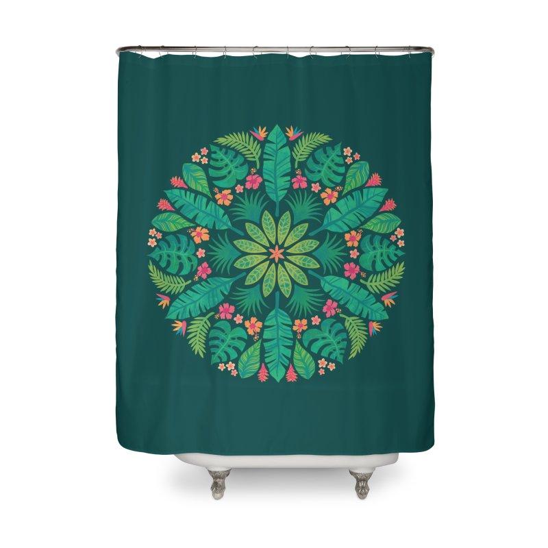 Tropical Sun Home Shower Curtain by Waynem