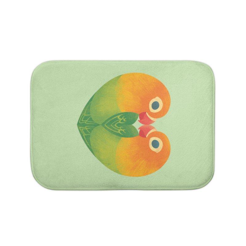 Lovebirds Home Bath Mat by Waynem