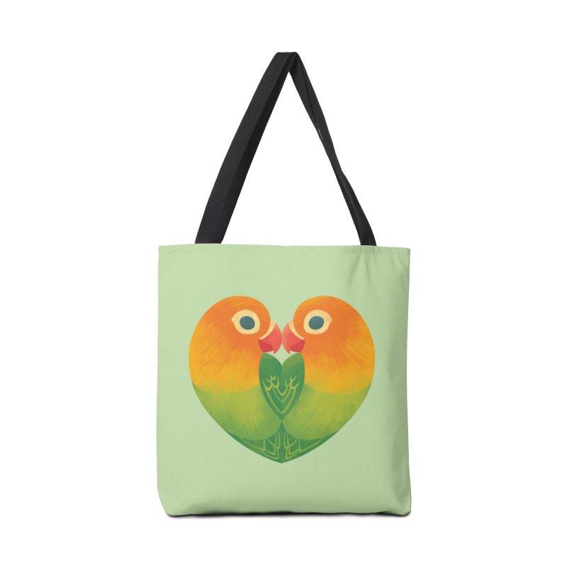 Lovebirds Accessories Tote Bag Bag by Waynem