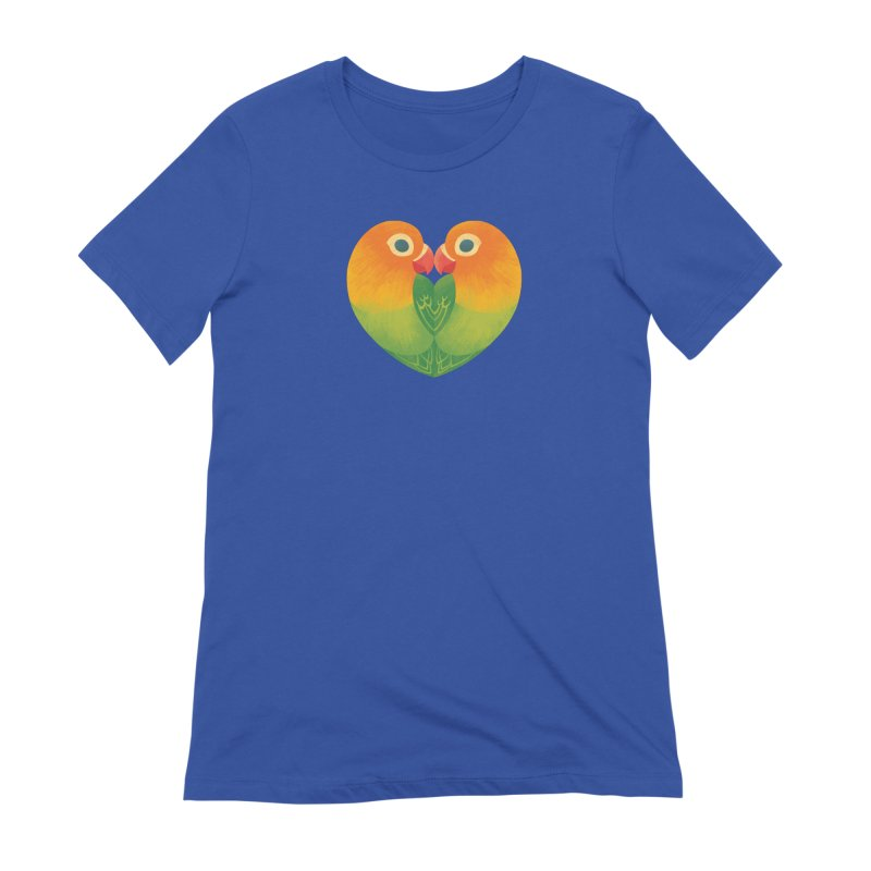 Lovebirds Women's Extra Soft T-Shirt by Waynem