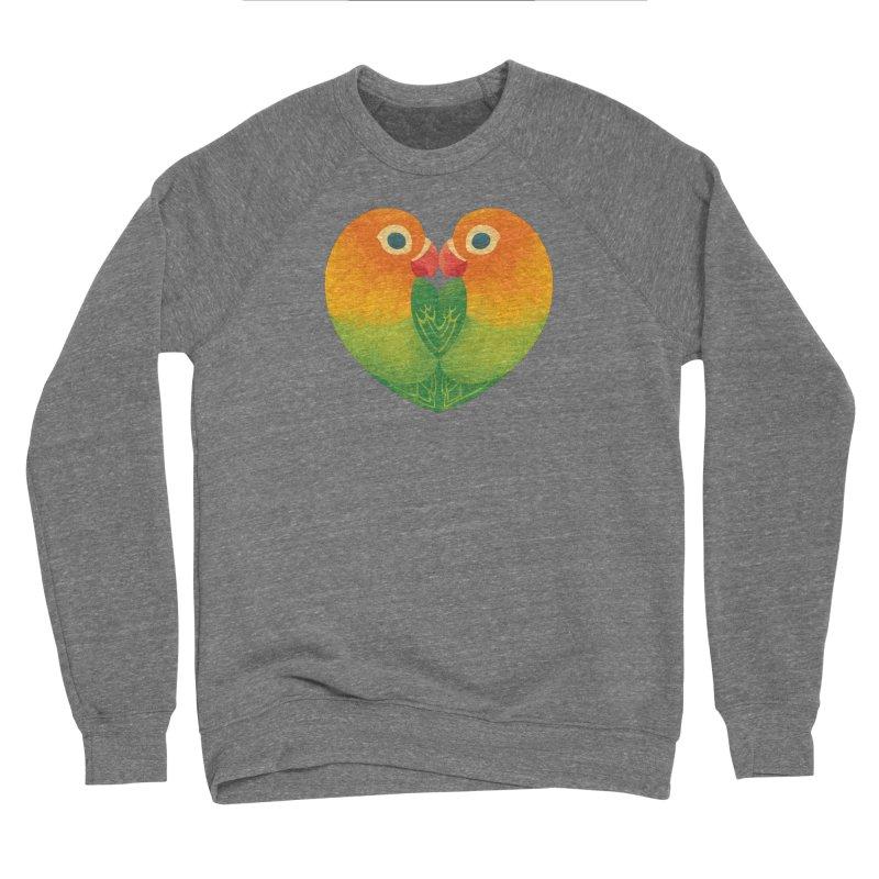 Lovebirds Women's Sponge Fleece Sweatshirt by Waynem