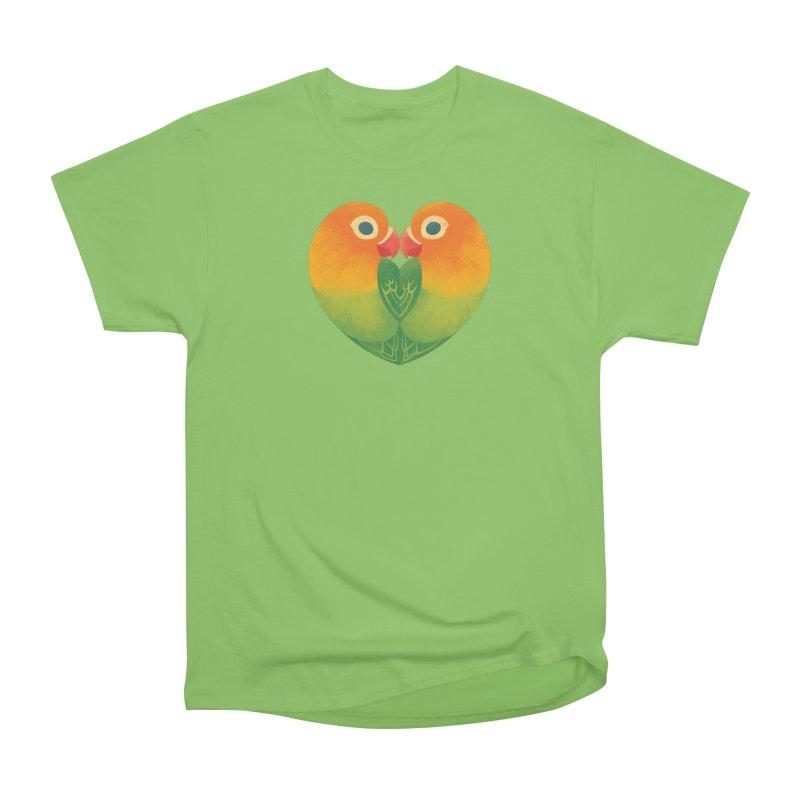 Lovebirds Men's Heavyweight T-Shirt by Waynem