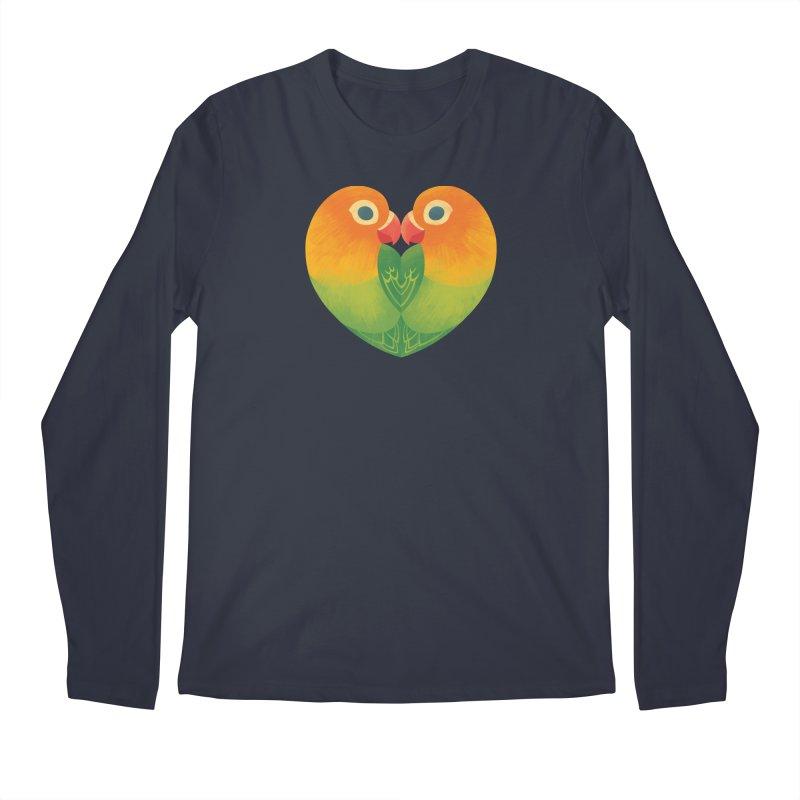 Lovebirds Men's Regular Longsleeve T-Shirt by Waynem