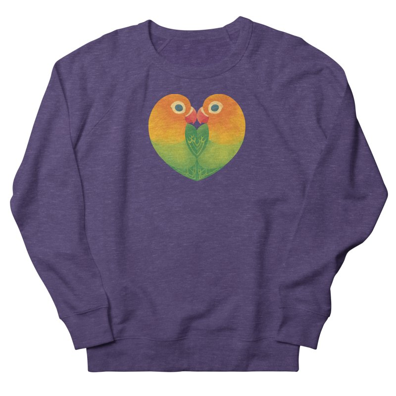 Lovebirds Men's French Terry Sweatshirt by Waynem