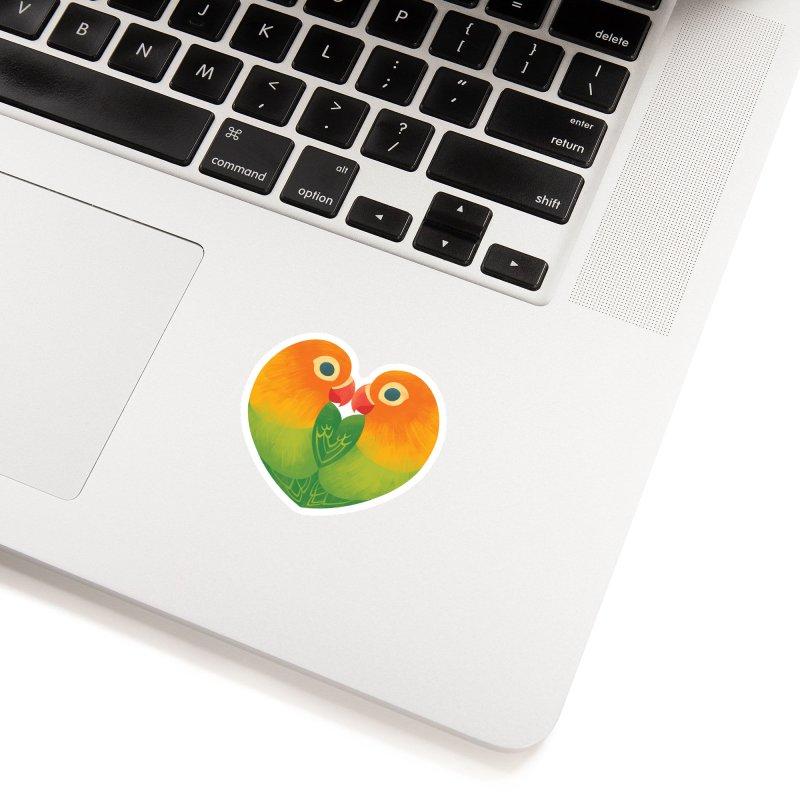Lovebirds Accessories Sticker by Waynem
