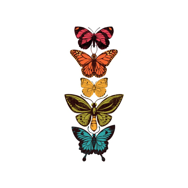 Butterfly Spectrum Accessories Notebook by Waynem