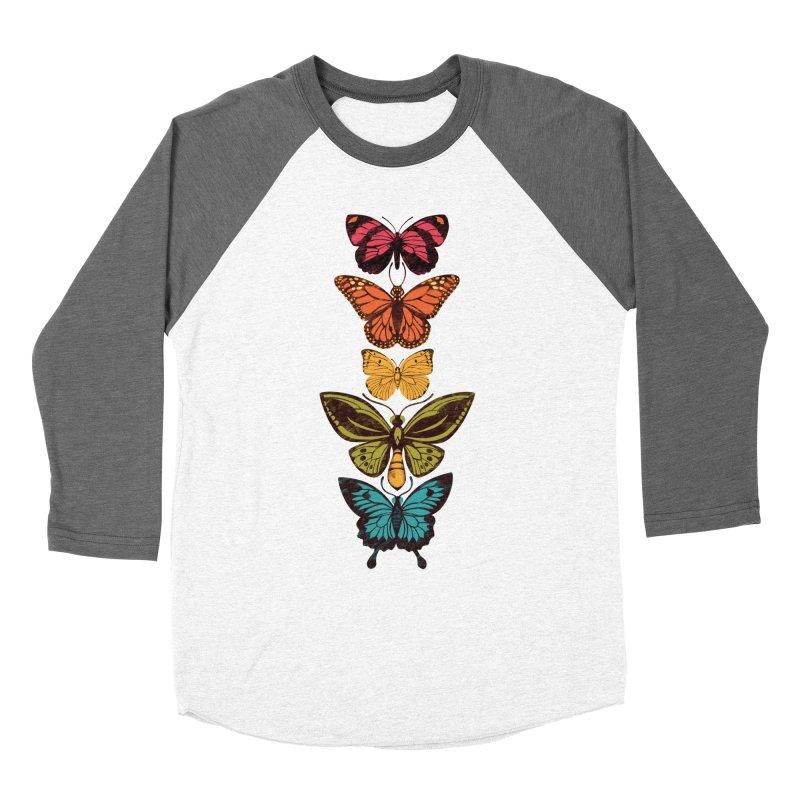 Butterfly Spectrum Women's Longsleeve T-Shirt by Waynem