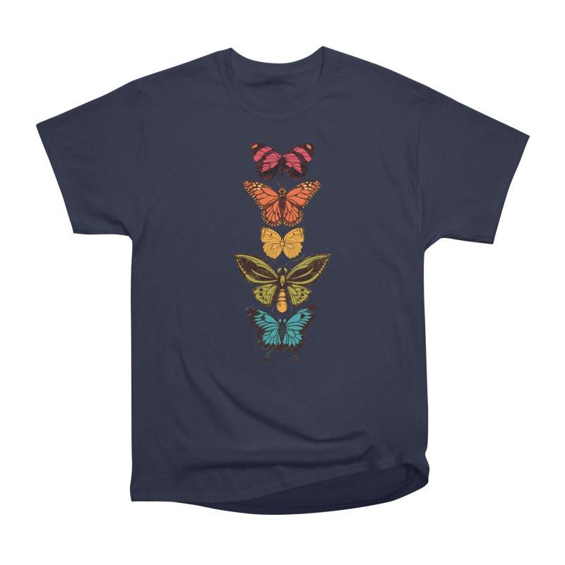 Butterfly Spectrum Men's Heavyweight T-Shirt by Waynem