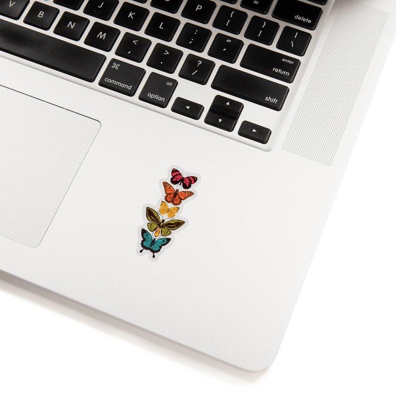 Butterfly Spectrum Accessories Sticker by Waynem