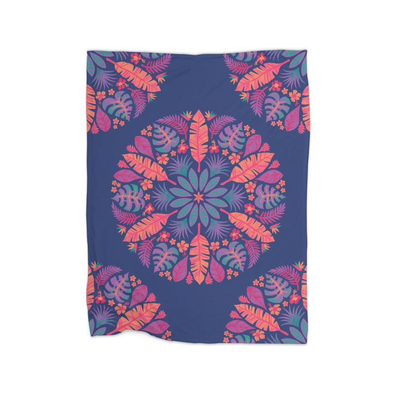 Technicolour Tropical Sun Home Blanket by Waynem