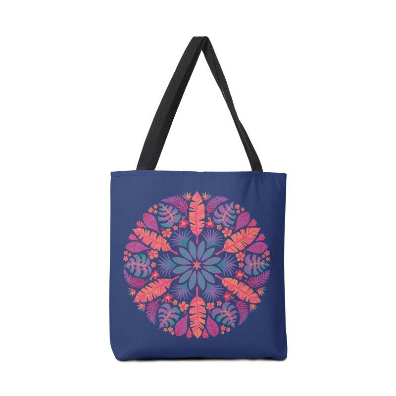 Technicolour Tropical Sun Accessories Tote Bag Bag by Waynem