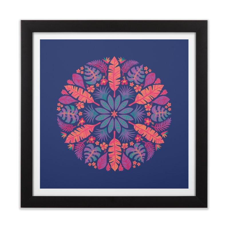 Technicolour Tropical Sun Home Framed Fine Art Print by Waynem