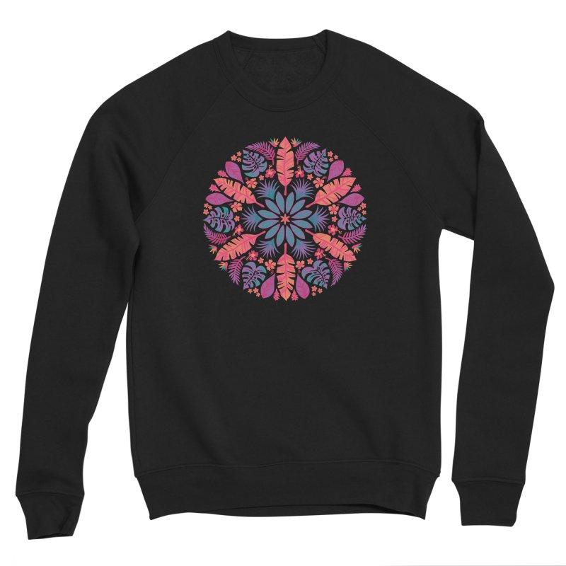 Technicolour Tropical Sun Women's Sponge Fleece Sweatshirt by Waynem