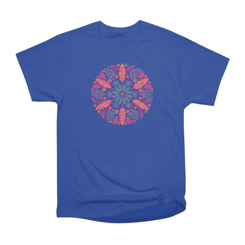 Technicolour Tropical Sun Women's T-Shirt by Waynem