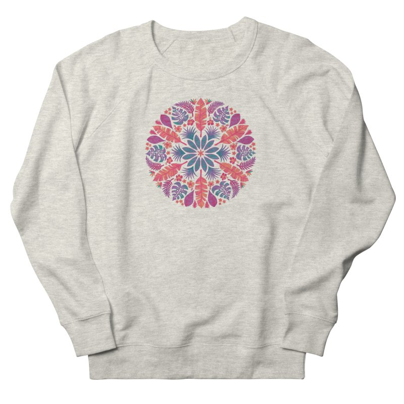 Technicolour Tropical Sun Women's French Terry Sweatshirt by Waynem