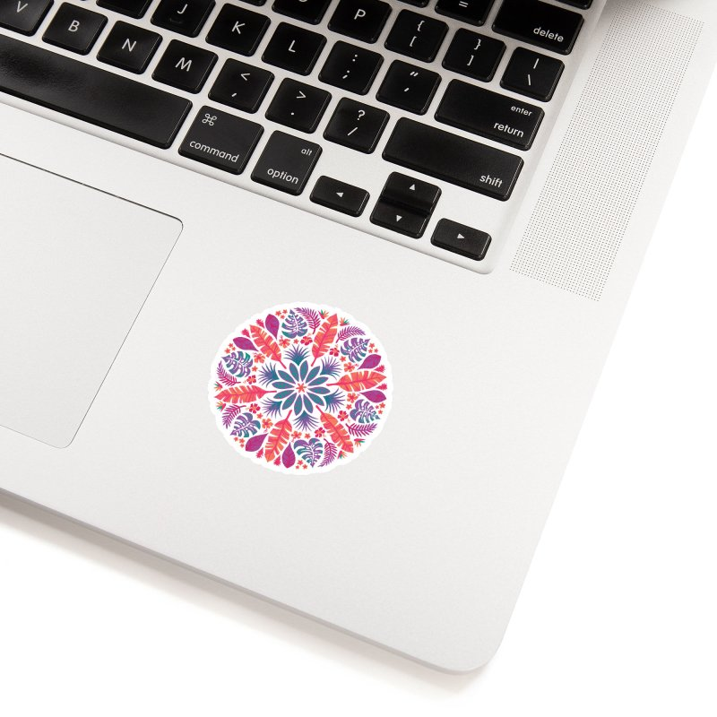 Technicolour Tropical Sun Accessories Sticker by Waynem