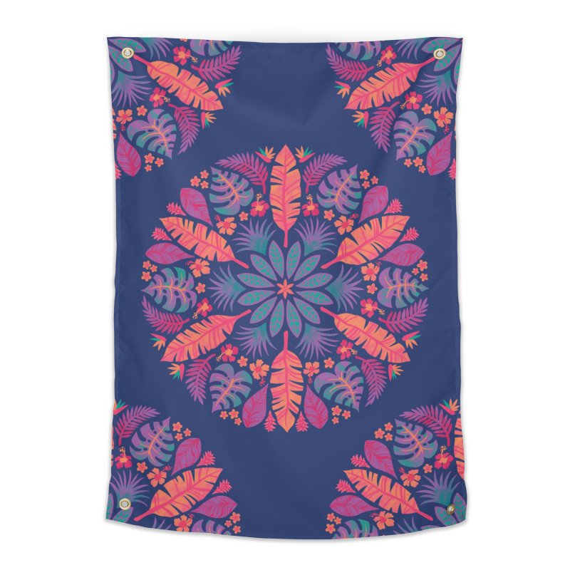 Technicolour Tropical Sun Home Tapestry by Waynem