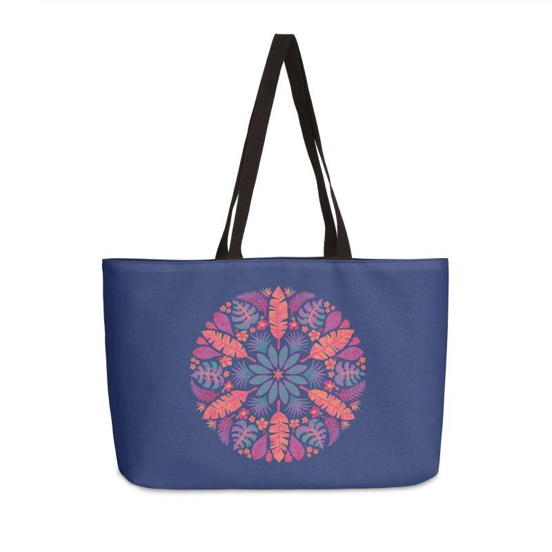Technicolour Tropical Sun Accessories Weekender Bag Bag by Waynem