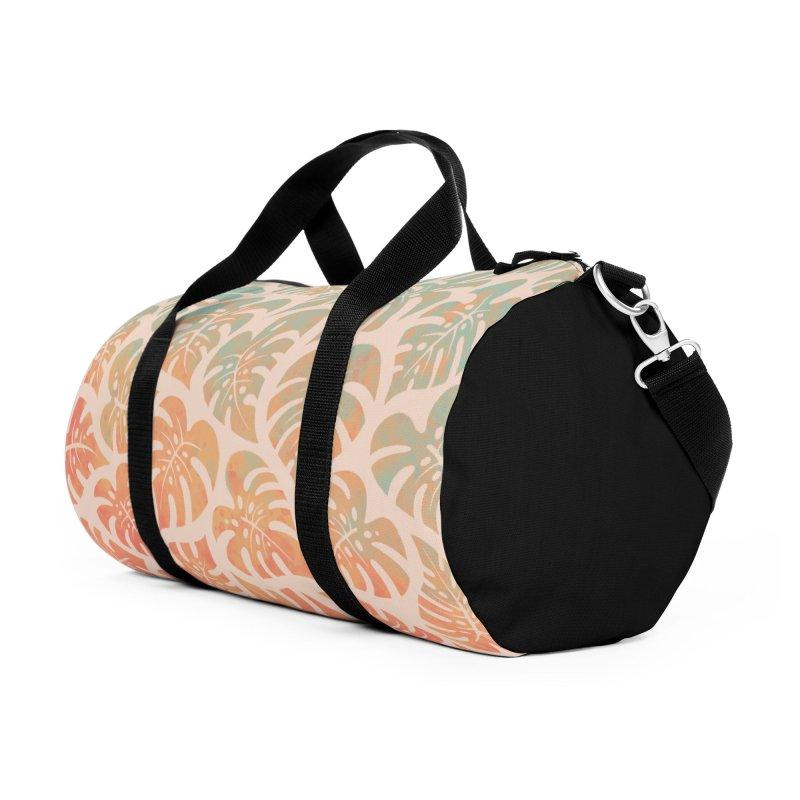 Monstera Mash Accessories Duffel Bag Bag by Waynem