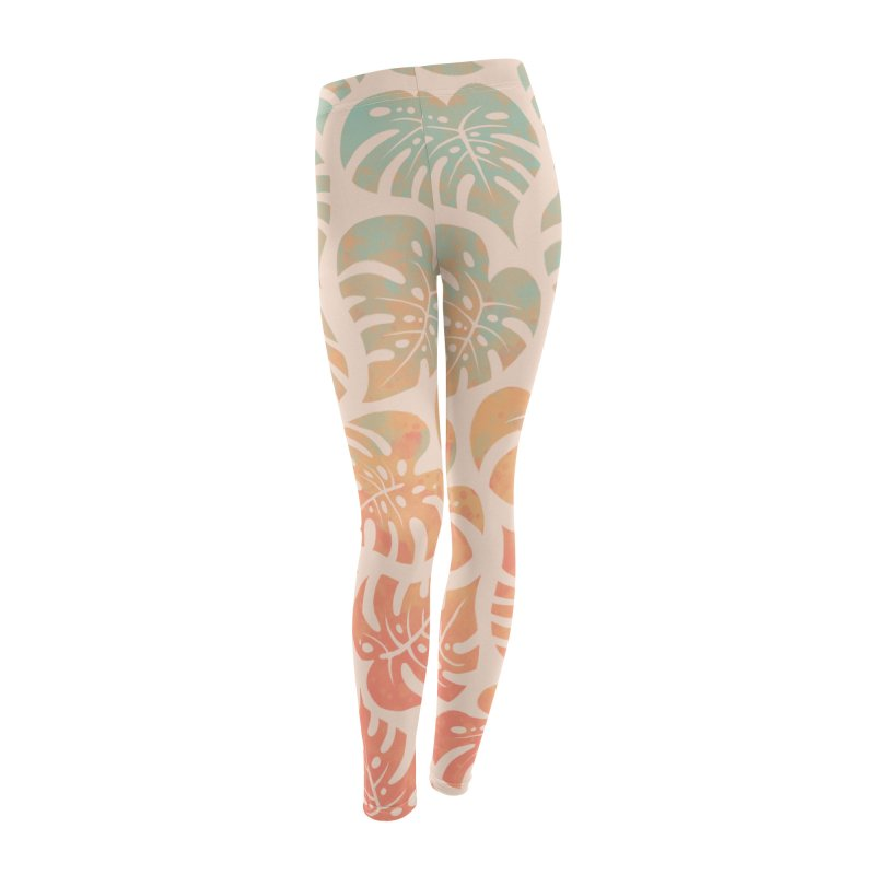 Monstera Mash Women's Leggings Bottoms by Waynem