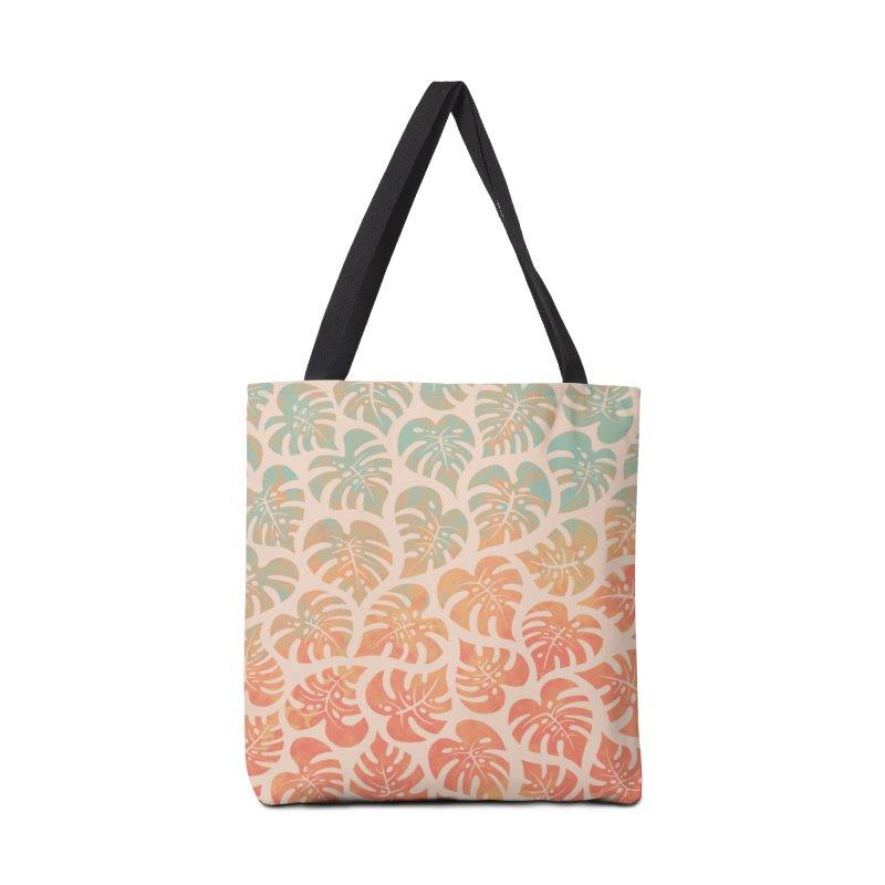 Monstera Mash Accessories Tote Bag Bag by Waynem