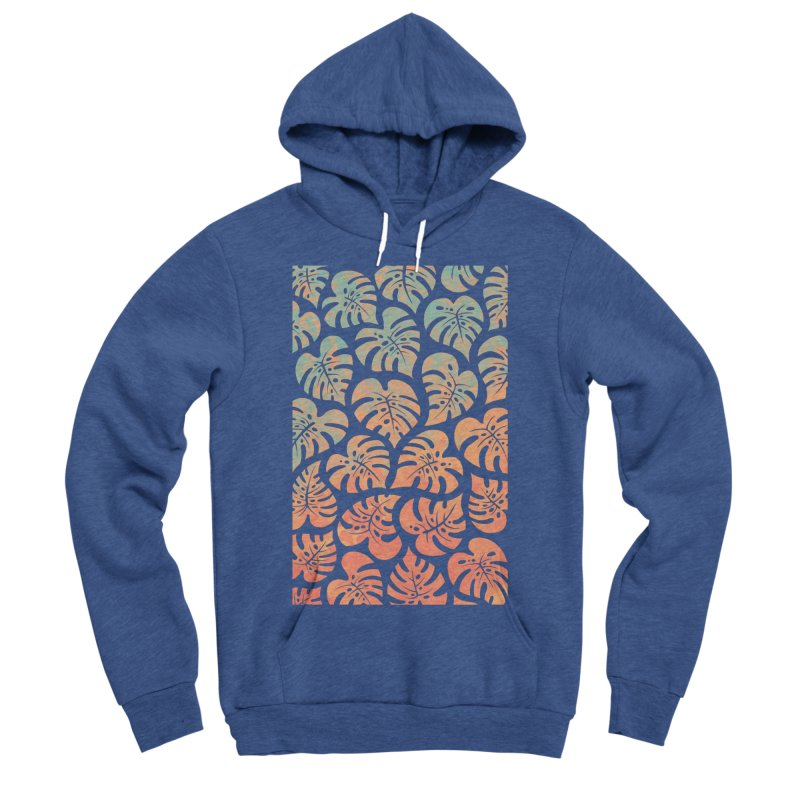 Monstera Mash Women's Sponge Fleece Pullover Hoody by Waynem