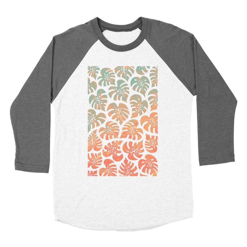 Monstera Mash Women's Longsleeve T-Shirt by Waynem