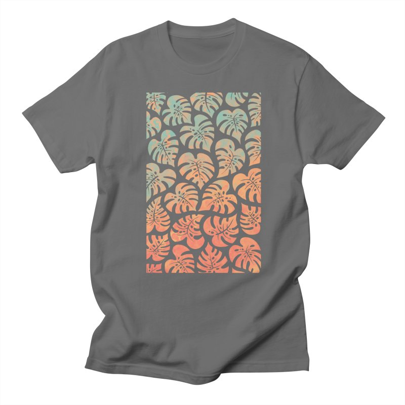 Monstera Mash Men's Regular T-Shirt by Waynem