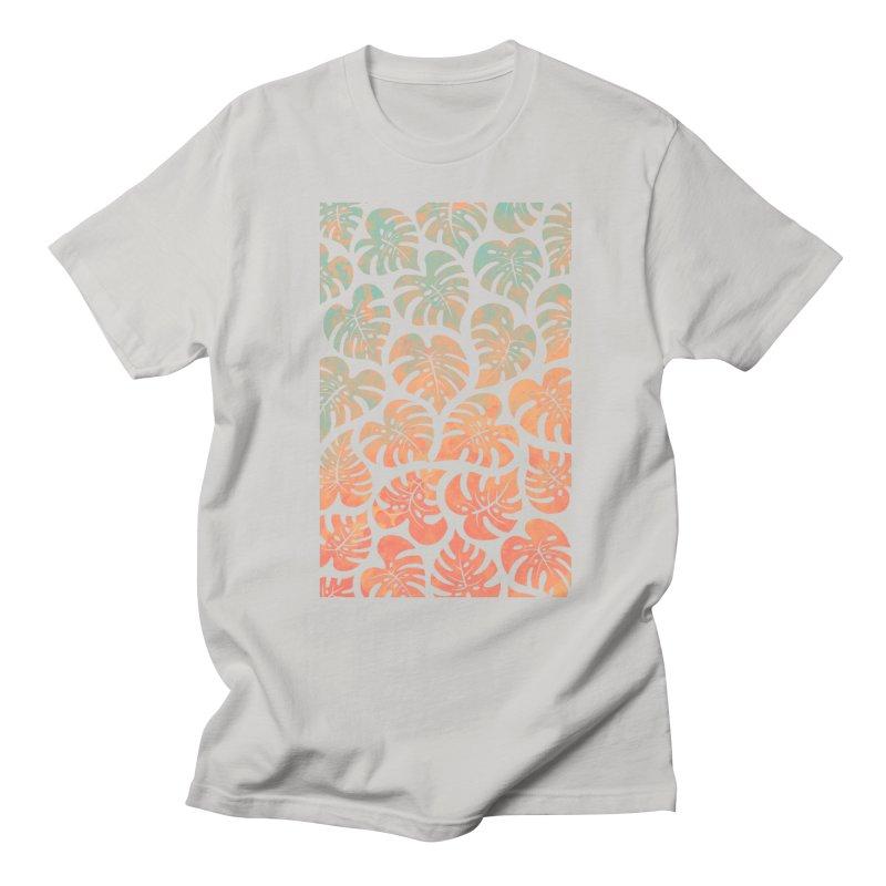 Monstera Mash Men's Regular T-Shirt by Waynem