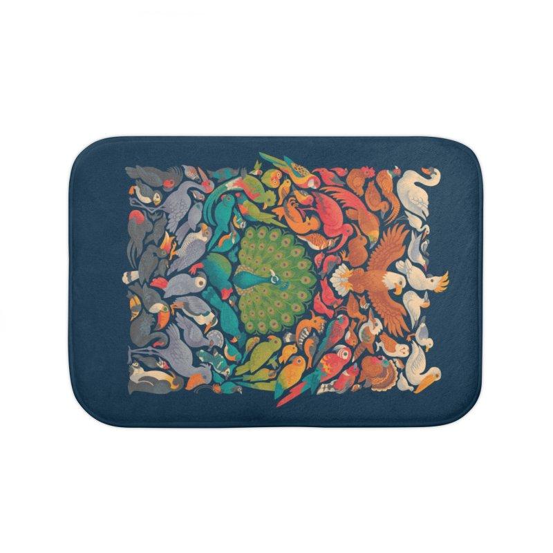 Aerial Spectrum Home Bath Mat by Waynem