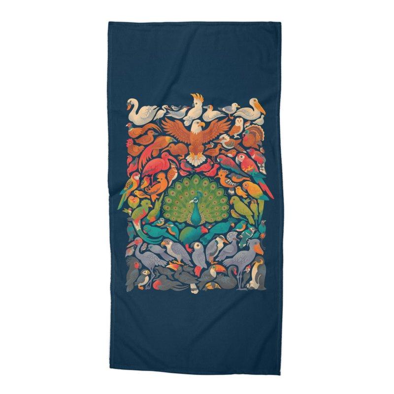 Aerial Spectrum Accessories Beach Towel by Waynem